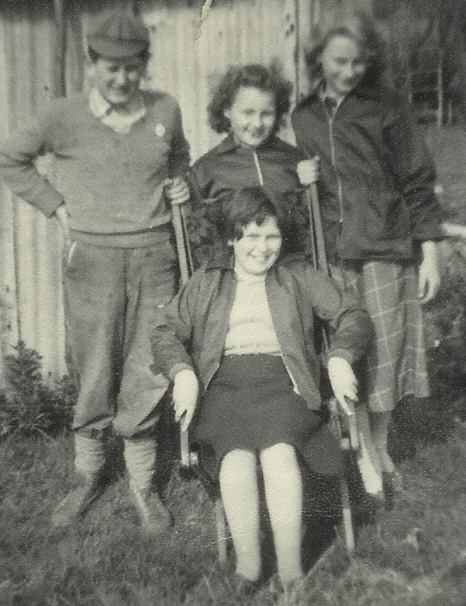 Children at the allotments