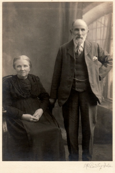Joseph and his wife Charlotte Tomkins
