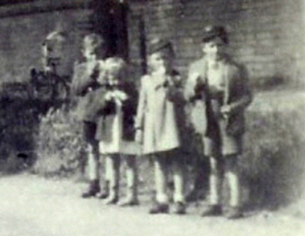 Children in The Lane