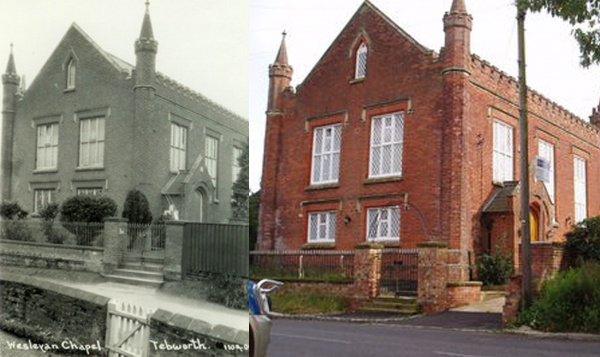 Then & Now - Wesleyan Chapel