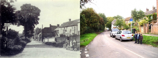 Then & Now - Children in The Lane