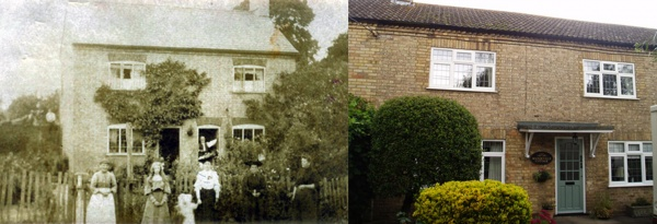 Then & Now - Mandeville Cottage