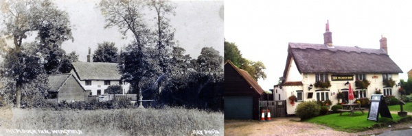 Then & Now - The Plough Inn