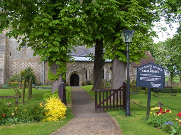 Chalgrave Church Entrance