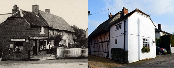 Then & Now - 2 The Lane